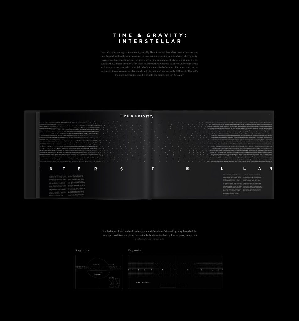 Hans Zimmer & Time designed by Nils Germain