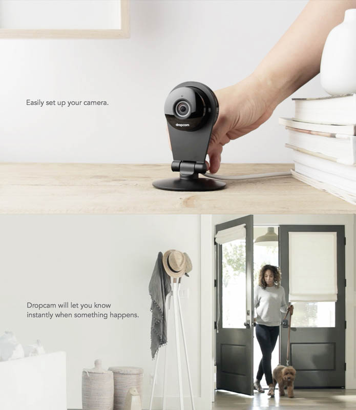 Dropcam designed by Character