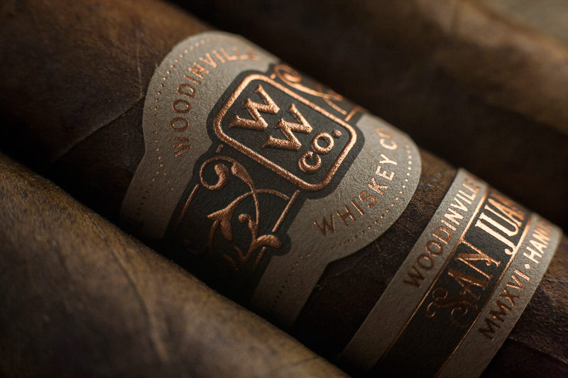 Woodinville Whiskey Cigars designed by David Cole