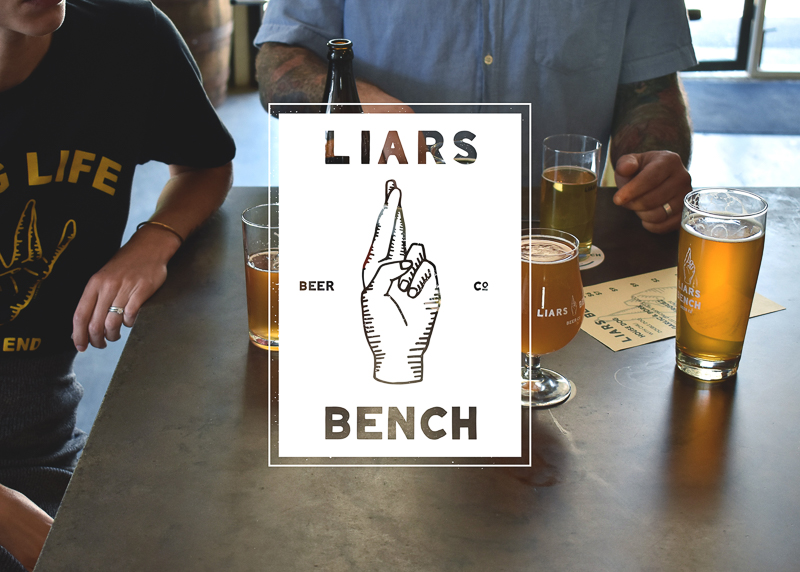 Liars Bench designed by HAM