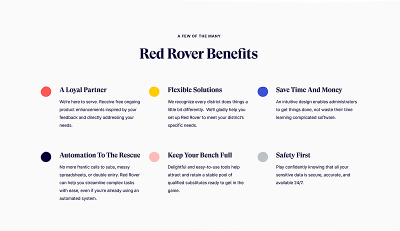 Red Rover designed by Mazali, Sweis, and Carbone