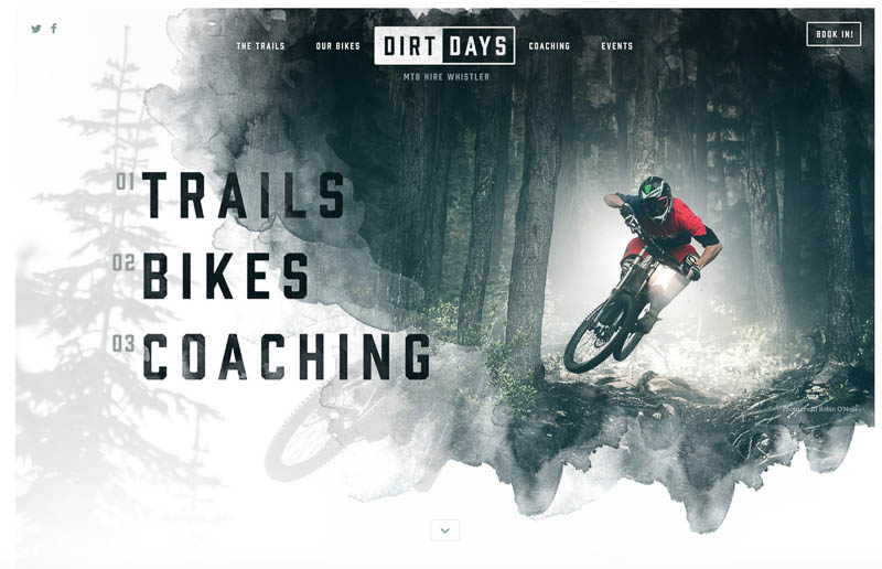 Dirt Days designed by Nathan Riley