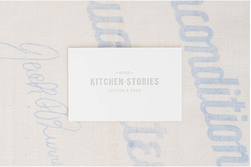 Some Kitchen Stories designed by Nicole McQuade