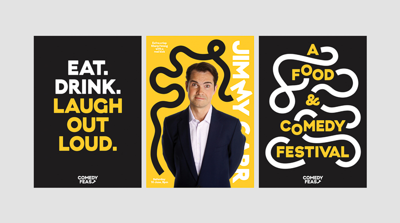 Comedy Feast designed by Only Studio