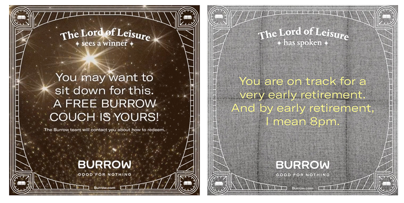 Burrow designed by Red Antler