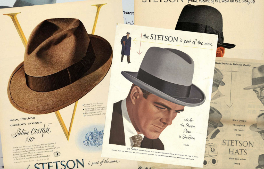 Stetson designed by Tractor Beam and Nathan Yoder