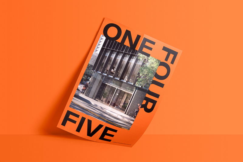 Onefourfive designed by Studio Brave