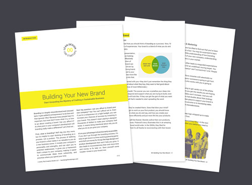 Free Guide: Building Your New Brand